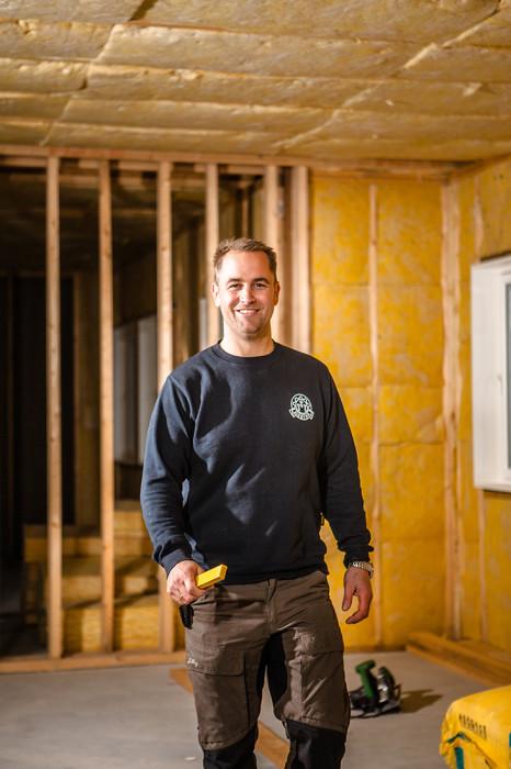 Byggmester Thomas Rom, Daglig leder Bygg 1 Lyngdal.