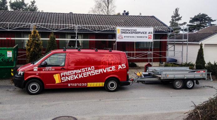 Fredrikstad Snekkerservice byttet til skybasert timeregistrering