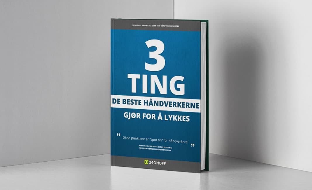 Håndbok med 3 ting de beste håndverkerne gjør for å lykkes